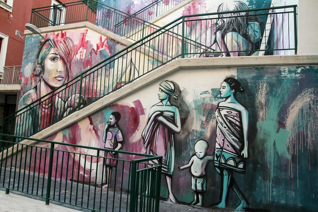street art associazione senza scopo di lucro